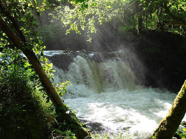 Cascada en el río Mendo