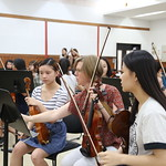 Sydney Symphony Orchestra musicians with Xinghai Conservatory students