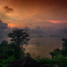 Crimson sunrise by Wajahat Mahmood