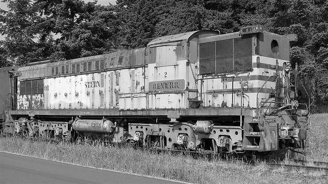 Baldwin AS-616 Vintage Diesel Black and White