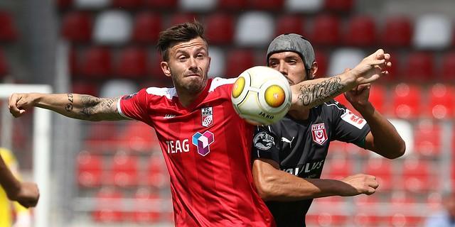 30.07.2016   FC Rot-Weiß Erfurt vs. Hallescher FC , Foto: Frank Steinhorst - Pressefoto