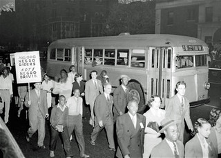 Protesting Capital Transit's Jim Crow hiring policies: 1943 | by Washington Area Spark