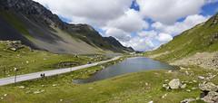 In vetta al Fluela pass (2400mt)