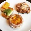 Good morning! #goodmorning #morning #food #foodporn #foodie #bakery #fruittart #breakfast #weekend #sunday #hkiger #discoverhongkong #cool #cute #love #like #fruits #fruitcake #brunch #relax #tart