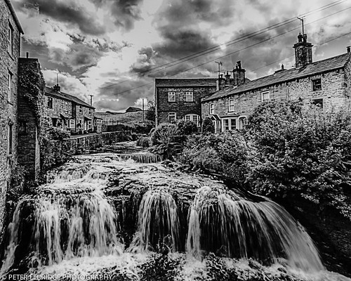 Hawes Water Cascade