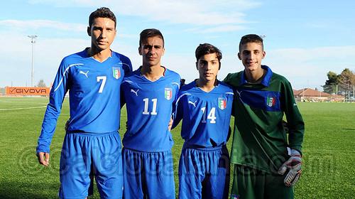 Finocchiaro (7), Bellanca (11), Lombardo (14) e Grasso.