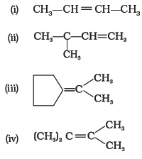Class 11 Important Questions for Chemistry – Hydrocarbons