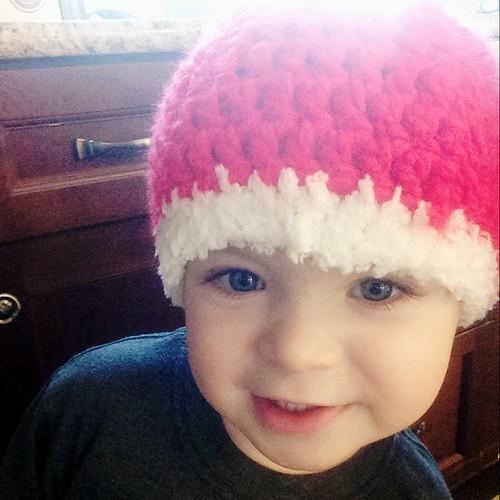 Ethan Santa Hat