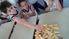 Alimentação saudável nas aulas de Educação Física.