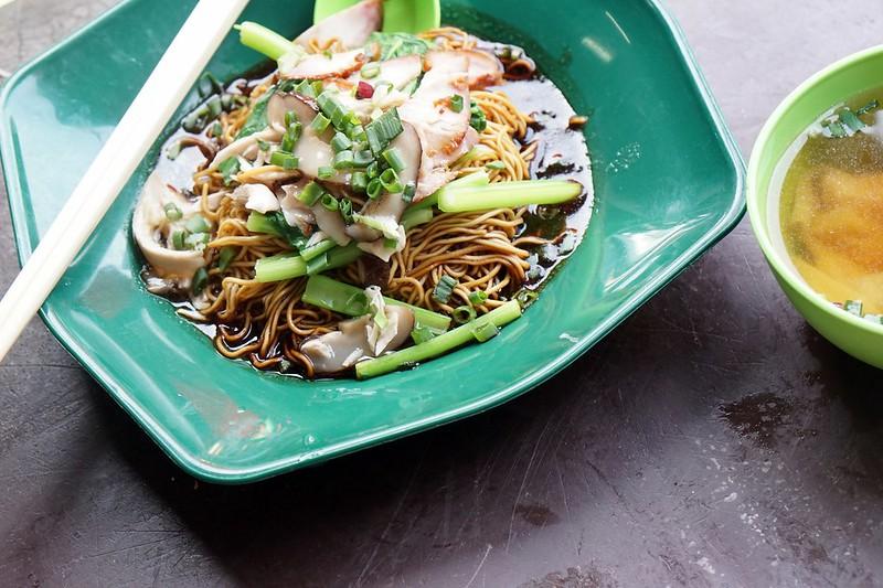 imbi morning market - famous wan tan mee