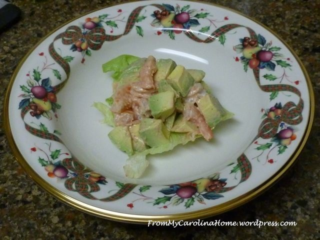 Shrimp Avocado Remoulade