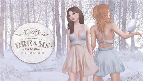 :Moon Amore: Dreams Crochet Dress