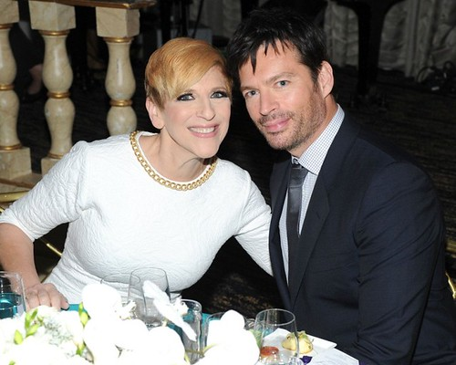 Lisa Lampanelli, Harry Connick Jr.==.Ovarian Cancer Research Fund's 20th Anniversary Legends Gala, Hosted by Harry Connick Jr.==.The Pierre Hotel, NY==.November 5, 2014==.©Patrick McMullan==.Photo - Owen Hoffmann/patrickmcmullan.com==.==