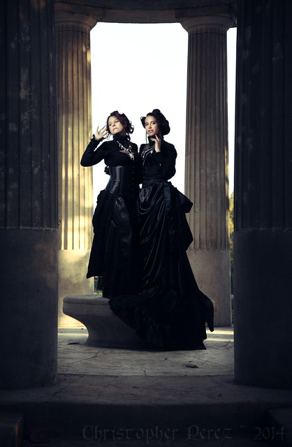 Victorian Gothic Conjoined Twins