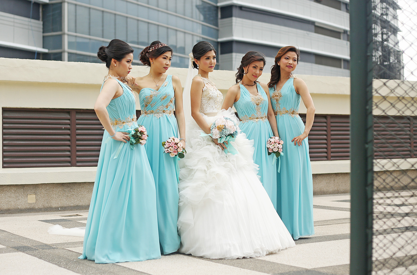 Related Posts Behind The Design Lace Bridal Gown And Entourage