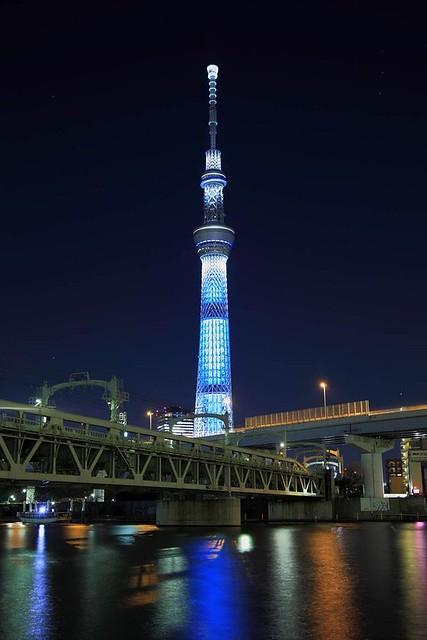 浅草の夜景