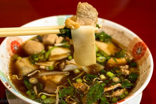Nam Tok Moo - Floating Market Noodle Soup