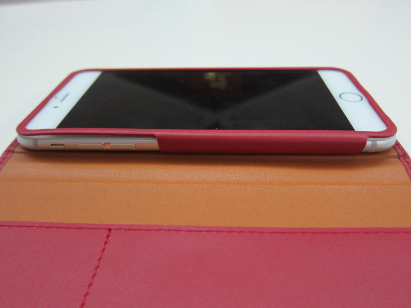 GRAMAS Full Leather Case - With iPhone 6 Plus (Left)