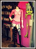 Lingerie shop mannequin, Camden Town, London, 2014