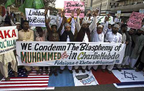 Protestas de musulmanes