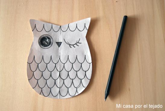 DIY Mirilla Búho