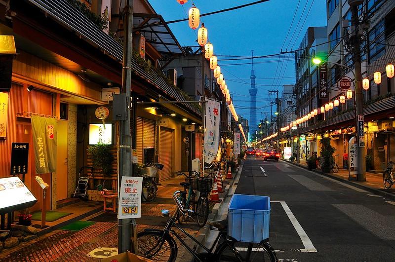 Restaurants and lanterns