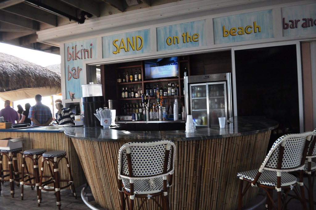 Bikini Bar at Sand on the Beach, Melbourne Beach, Fla., Nov. 8, 2014