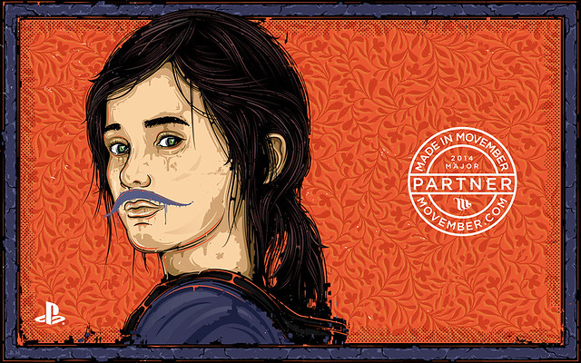 1024x640_PlayStation_The_Last_Of_Us_Ellie_Movember_Wallpaper