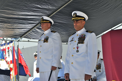 USS Chafee Holds Change of Command at JBPHH