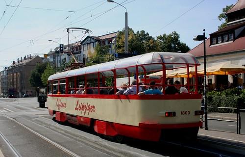 LVB (Leipzig) tram 1600, Connewitz