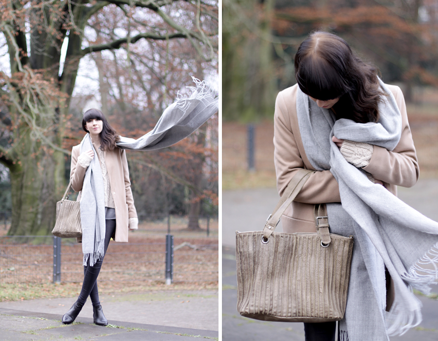 freds bruder tasche bag beige nude outfit coordinate neutral color ricarda schernus blog blogger fashionblogger modeblog cats and dogs park winter styling ootd 2
