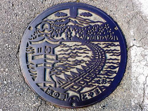 Toyama city Toyama pref, manhole cover (富山県富山市のマンホール3)