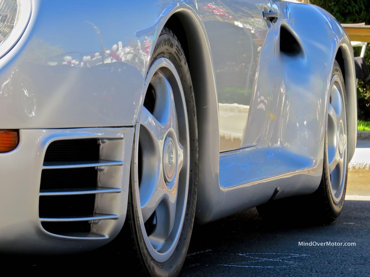 Porsche 959 Side Contours