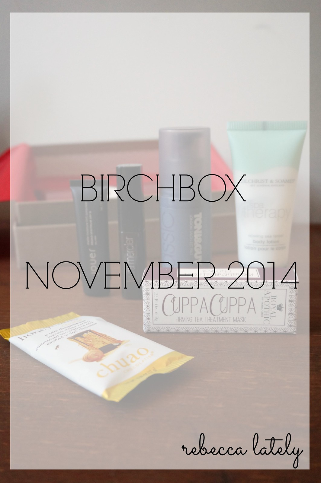 Birchbox November 2014 2