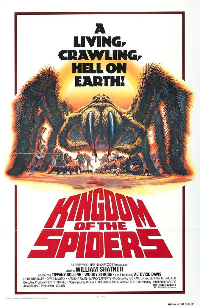 Bob Larkin - Kingdom of the Spiders (1977)