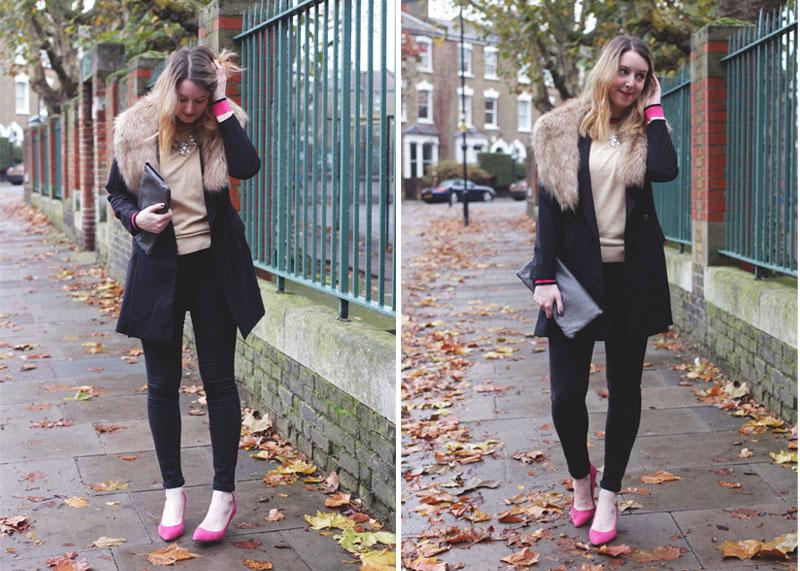How to wear colour in Winter, Bumpkin Betty