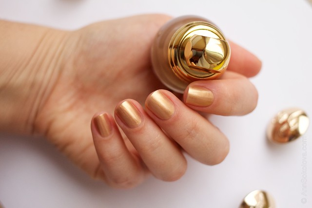 05 Dior Diorific Vernis #241 Gold Equinoxe swatches
