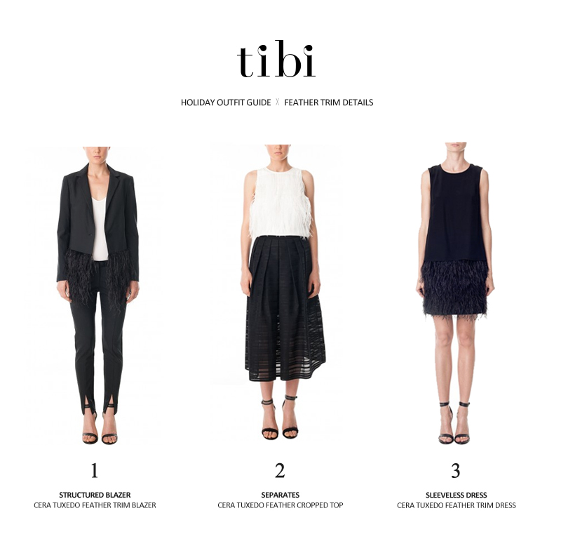 Holiday Outfit Guide - tibi