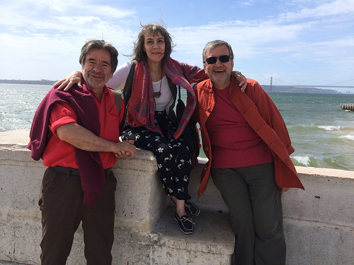 ♥ Antonio & Leszek in Lisbon with lulu ♥