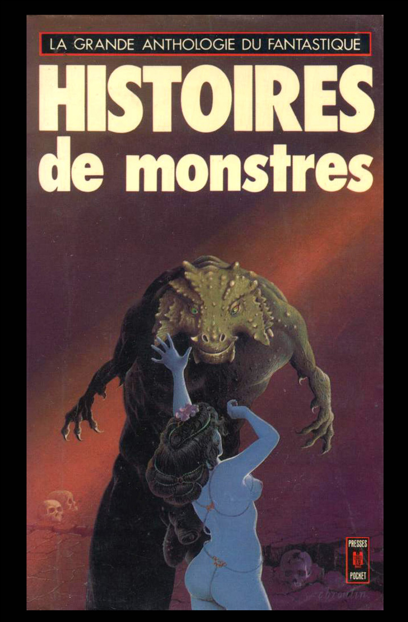 Christian Broutin - Cover Art, Histoires de Monstres, 1977