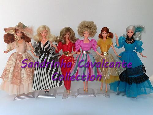 Barbies da coleção de 1985