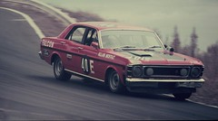 race car, auto racing, automobile, racing, executive car, family car, vehicle, motorsport, ford xy falcon gt, ford, antique car, sedan, land vehicle,