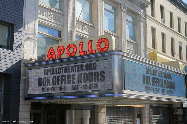 Apollo Theatre, Harlem.
