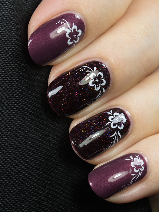 KBShimmer - A Raisin To Live & O.P.I. - Catherine the Grape
