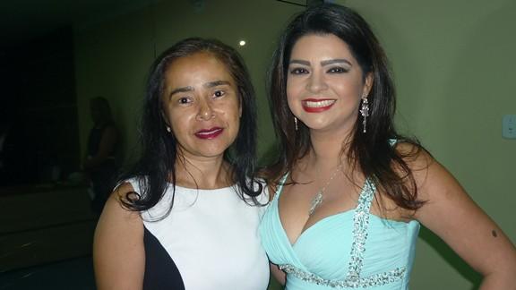 Valdenira Menezes com Ana Bárbara Branches