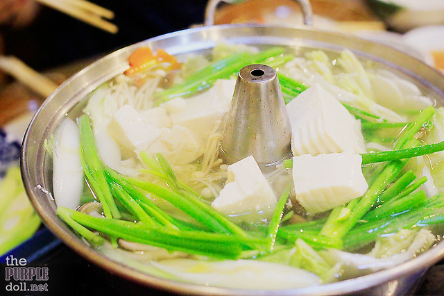 Konbu-based broth for shabu-shabu