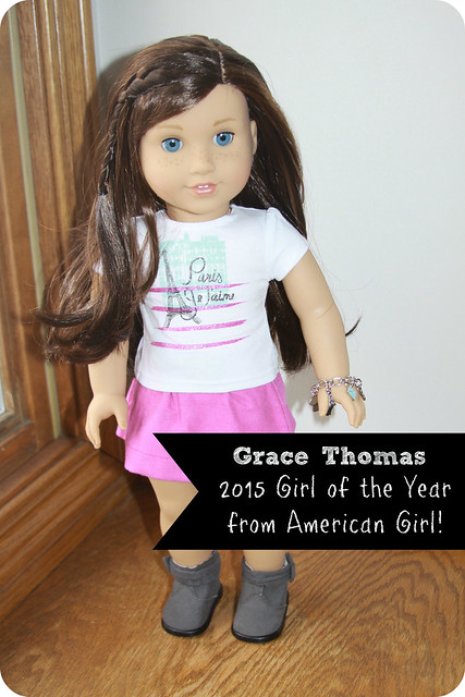 Grace Thomas Girl of the Year from American Girl