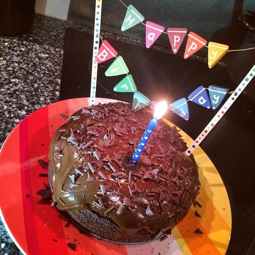 #Chocolate #cherry #birthday #cake for #sundaycookoff @UluruArmagh