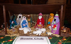 Bowls Club Nativity