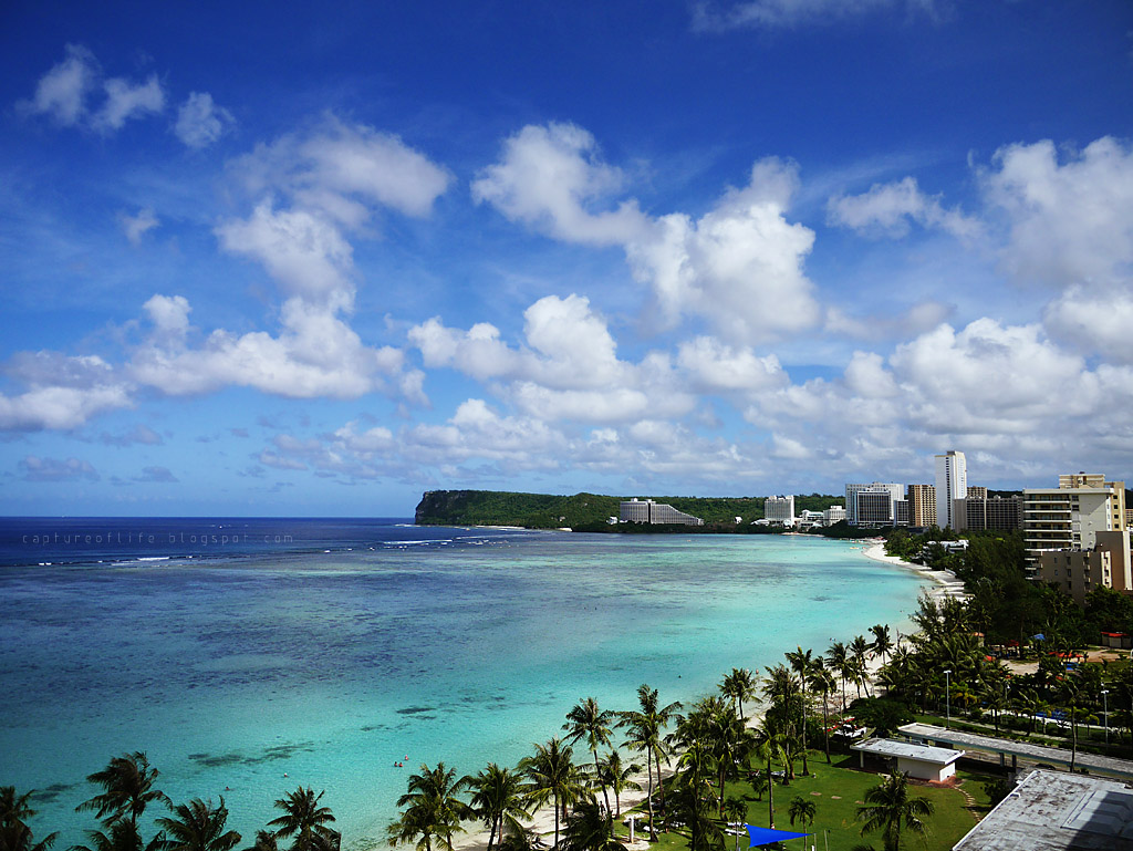 Trip to Guam-- the view outside my room